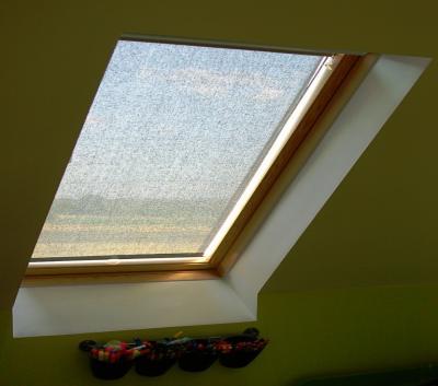 Do okien połaciowych-dachowych